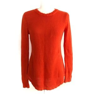 Long Sleeve Knit Fisherman Pullover Sweater Top